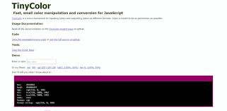 tiny color 12 best javascript animation frameworks code geekz