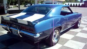 dusk blue camaro 69 z 28 camaro mov