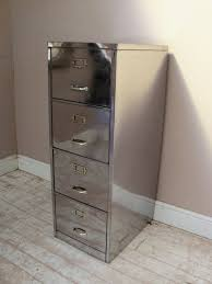 Metal Filing Cabinet Makeover Super Shiny Polished Vintage Steel Furniture File Cabinet