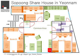 seoul share house sopoong share house yeonnam with comenstay