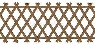 traliccio legno recinto marrone di legno traliccio lavoro fotografia stock