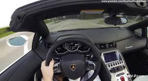 lamborghini aventador drive more aventador roadster driving