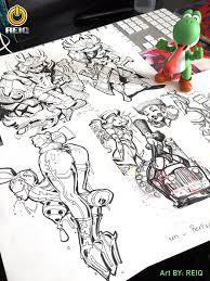 sketches by reiq on deviantart