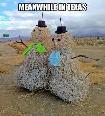 Meanwhile In Texas Meme - texas snowmen meanwhile in know your meme