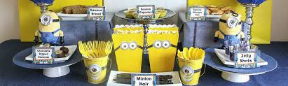 minions party supplies despicable me party supplies decorations birthday in a box