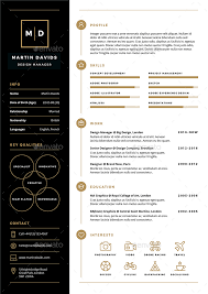 cv resume by ikonome graphicriver