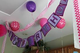 Home Decoration Birthday Party The House Decorations For The Babies U0027 First Birthday Party