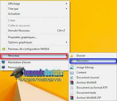 windows 8 raccourci bureau comment créer un raccourci de recherche sur le bureau dans windows 8