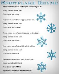 25 winter and christmas crafts for kids felt board snowflake rhyme