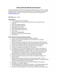 Plant Manager Resume Kitchen Manager Resume 22 12 Useful Materials For Assistant