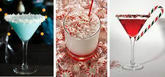winter themed drinks