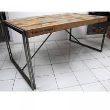 bureau industriel pas cher table a manger style industriel pas cher maison design bahbe com