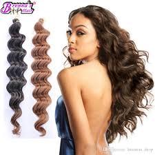texture of rennas hair online cheap 18inch freetress deep wave synthetic crochet braids big