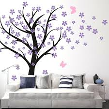 cherry blossom home decor wall decor cool butterfly wall decor for nursery for home design