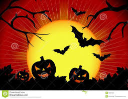 Halloween Vector Graphics by Vector Illustration On A Halloween Theme Stock Images Image 6302124