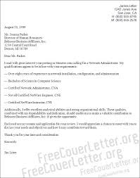 Sample Resume Of Network Administrator by Administrator Cover Letter Sample