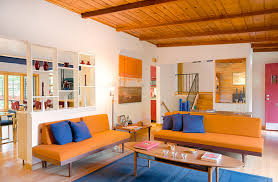 Living Room With Orange Sofa 23 Fruity Orange Sofa Living Room Home Design Lover