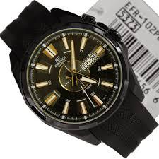 Jam Tangan Casio Karet jual jam tangan casio edifice efr 102pb jam casio jam tangan