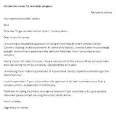 request letter internship