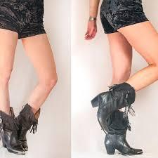 womens fringe boots size 11 best vintage fringe boots products on wanelo