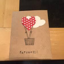 Invitation Card Of Farewell Party Handmade Farewell Card Cards Pinterest Cards Card Ideas And