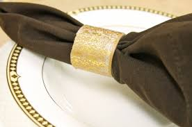 and easy diy thanksgiving napkin rings