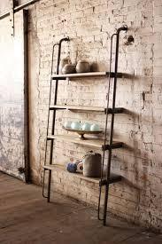 furniture wooden ladder shelving ikea leaning ladder shelf