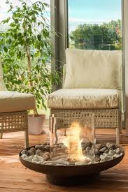 bio ethanol fire pit for outdoors tondo commerce planika