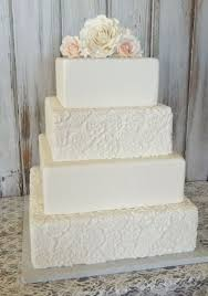 square cake 30 gorgeous square wedding cake ideas weddingomania