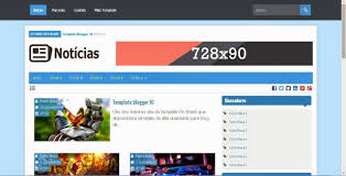 template responsive blog de noticias gratis templates para blogspot
