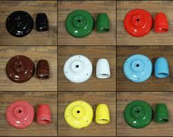 Vintage Porcelain Light Fixtures Restaurant Lighting Etsy
