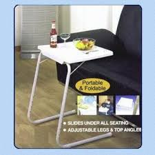tv table as seen on tv as seen on tv portable sofa table with adjustable height global