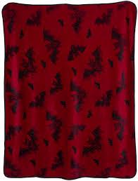 Sourpuss Shower Curtain Attack Fleece Blanket From Sourpuss