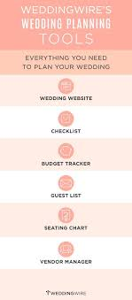 wedding planner tools sign up to start using these free wedding planning tools