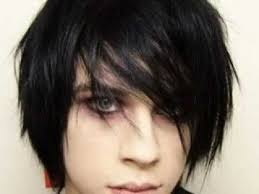 short emo hairstyles back view long layered hairstyles back view