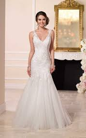 Satin Wedding Dresses Beaded Lace And Tulle Satin Wedding Dresses Stella York