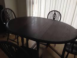 dark wood drop leaf table vintage style drop leaf dining table and 6 chairs dark wood in