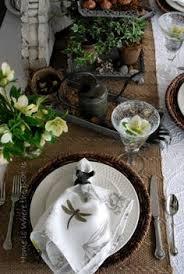 Setting Table Porcelain Dinner Sophisticated Table Table Settings Table Set