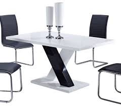 Global Furniture Dining Table Hypnofitmauicom - White and black dining table