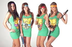 Ninja Turtle Womens Halloween Costumes 2011 Halloween Costume Trends 365 Halloween