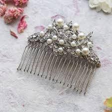 pearl hair comb adelaide and pearl hair comb lola and