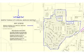 Map Of Utah Cities by North Tooele City Special Service District Tooele City