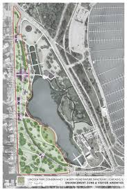 Bus Map Chicago by Lincoln Park Conservancy North Pond Nature Sanctuary