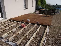 auvent en bois pour terrasse pose d une terrasse bois