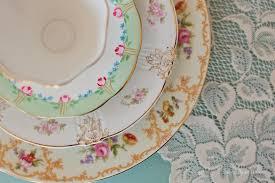tableware rental wedding wonders vintage plate and tea party rentals by fancy that