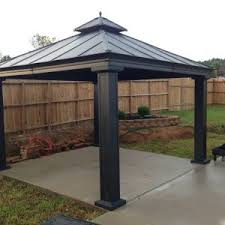 Roof For Patio Decor Costco Pergola With Roof And Wicker Patio Furniture Set