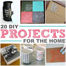 easy diy projects for home 20 diy projects for the home the realistic mama