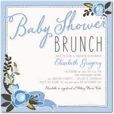 baby shower lunch invitation wording brunch baby shower invitations gangcraft net