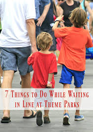 7 theme park ideas to pass time in line happy mothering