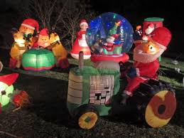 christmas inflatables outdoor christmas inflatables lovetoknow